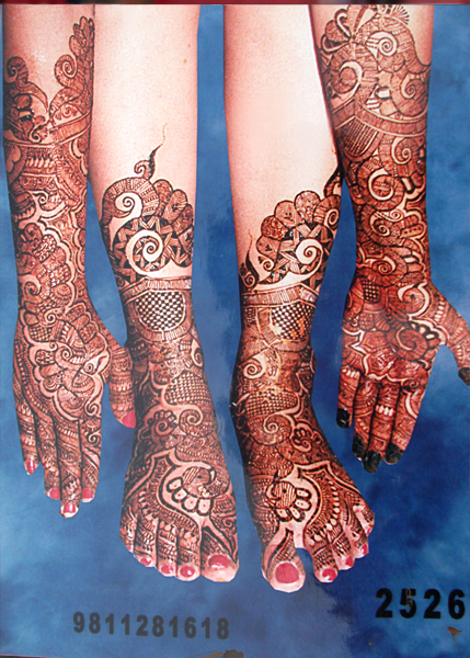 Best Bridal Mehandi Design Gurgaon