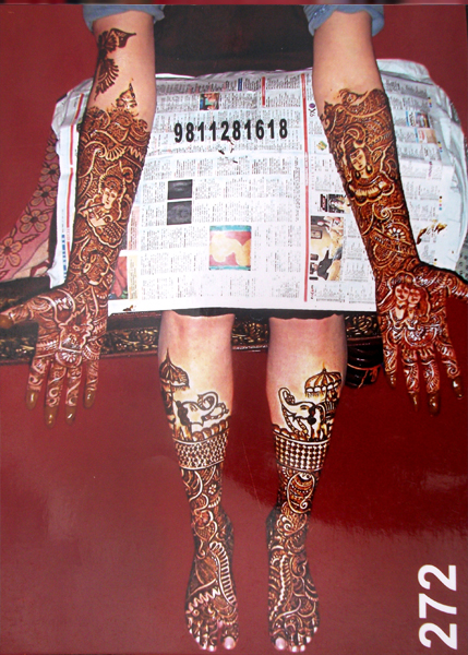 Best Bridal Mehandi Design Ghaziabad