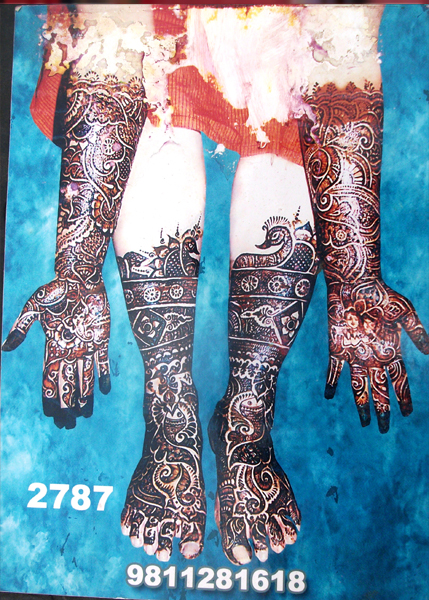Best Bridal Mehandi Design sonipath