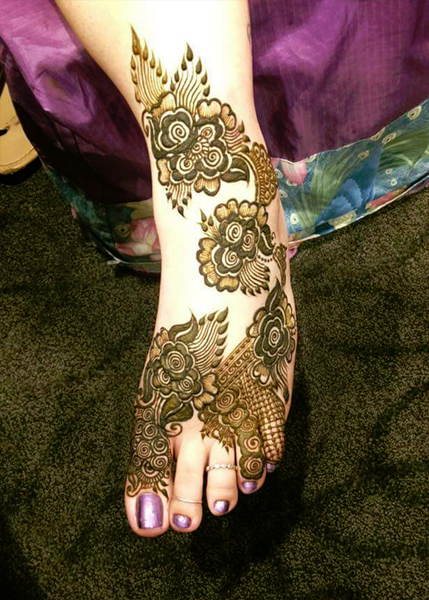 Best Bridal Mehandi Design chandigarh