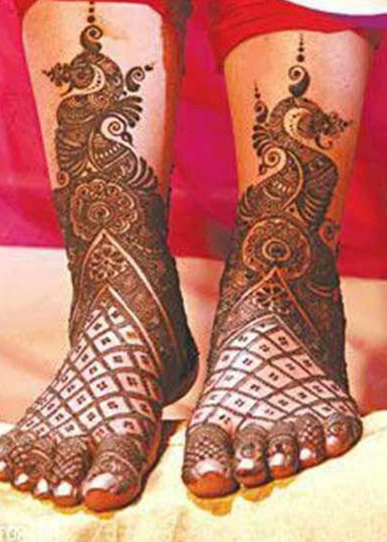 Best Bridal Mehandi Design Mumbai